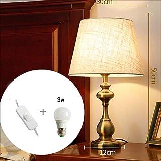 DDHZTA Warmer Nachttisch Theke Light Dimmable Dimmable Dimmable Metal Desk Lampe-50cm  30cm-Schlafzimmer Headboard Creative Desk Lampe-Fernbedienung,BUTTONSWITCH3WLED B07MBF6PVF  Allgemeines Produkt b620d9