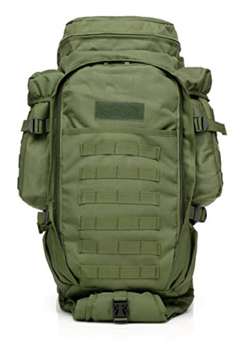 70L Large Capacity Camping Bag Multifunction Military Tactical Backpack Molle Hunting Outdoor Army Climbing Travel Fishing Bag
