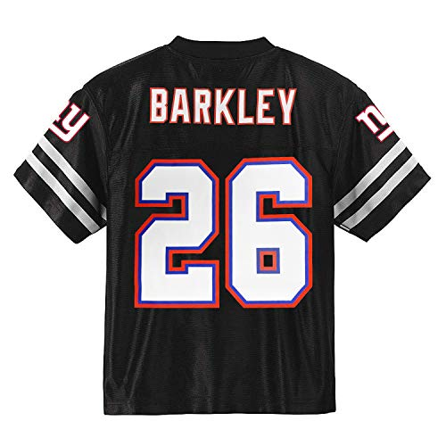 Saquon Barkley New York Giants Blackout Youth Alternate Player Jersey (Small 8)