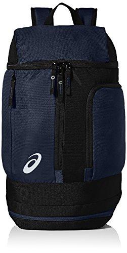 ASICS Unisex-Erwachsene Tm X-over Backpack Rucksack, marineblau/schwarz, Einheitsgröße