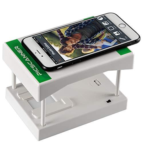 Rybozen scanner per pellicole mobili, converte le diapositive da 35 mm e i negativi in foto digitali con la fotocamera dello smartphone