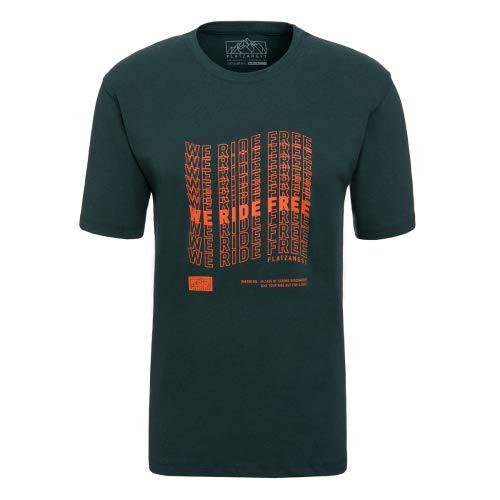 platzangst We Rde Free T-Shirt - Grün Größe XL