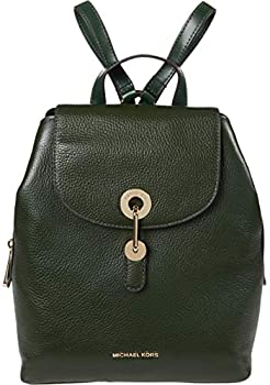 Michael Kors Raven Medium Pebbled Leather Backpack