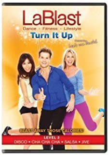LaBlast Level 2 DVD Turn It Up by Louis Van Amstel