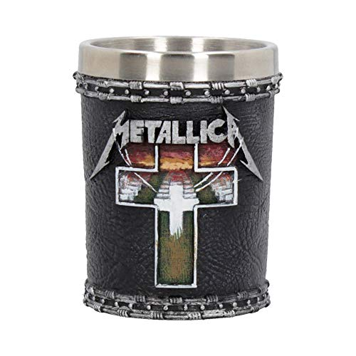 Nemesis Now B4683N9 Metallica-Master of Puppets - Vaso de chupito (resina, 7 cm),...