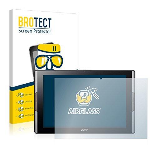 BROTECT Panzerglas Schutzfolie kompatibel mit Acer Iconia Tab 10 A3-A50 - AirGlass, 9H Festigkeit, Anti-Fingerprint, HD-Clear