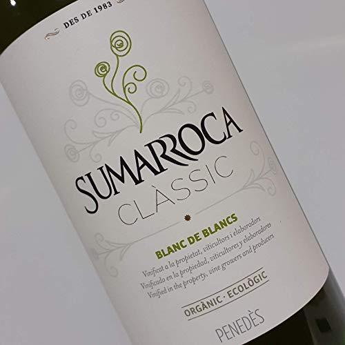 Sumarroca - Blanc De Blancs Vino Blanco D.O. Penedès (caja 6 botellas de 0,75 L)