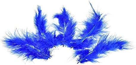 Efco Marabuveer 100-120 mm 2 g ~ 20 st. blauw, veren, 12 x 5 x 2 cm
