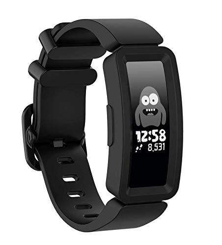 Shieranlee kompatibel mit Ace 2 Armband für Kids 6+, Weiches Silikon Ersatz Armband Zubehör für Fitbit Ace 2/ Inspire HR for Boys Girls