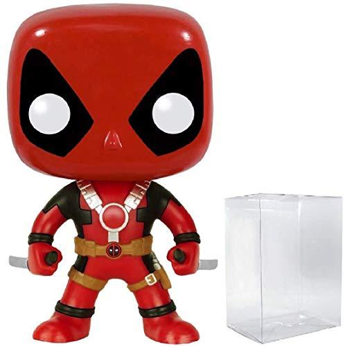 Funko Pop! Marvel Heroes: Deadpool con dos espadas #111 figura de vinilo (relleno con caja protectora de pop)