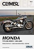 Honda VTX1300 Series 2003-2009 (Clymer Motorcycle Repair)