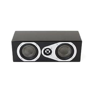 Energy Veritas V-Mini-C 2-Way Center Channel Speaker - Each (High Gloss Black)