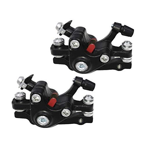 LIOOBO 2PCS / Set Frenos de Disco de Bicicleta de montaña Aleación...