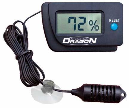 Dragon - Hygrometer digital, mit präzisem Fernfühler