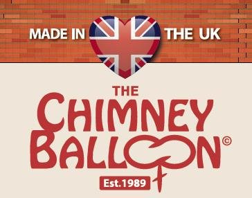 12 x 24 inch Chimney Balloon no mouth inflation tube and waste!