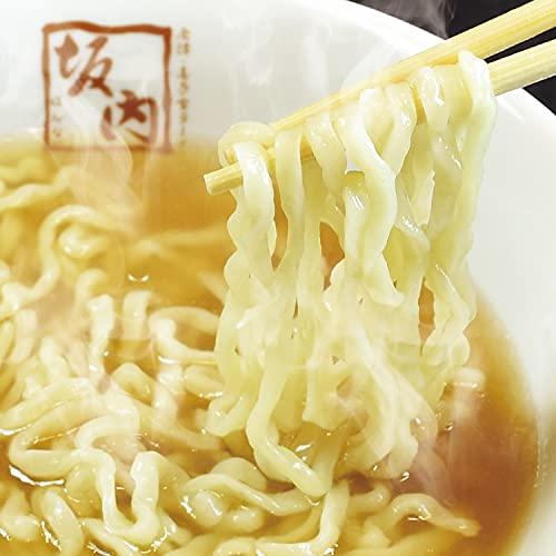 【喜多方ラーメン 坂内】生ラーメン | 6食(生麺とスープ) |