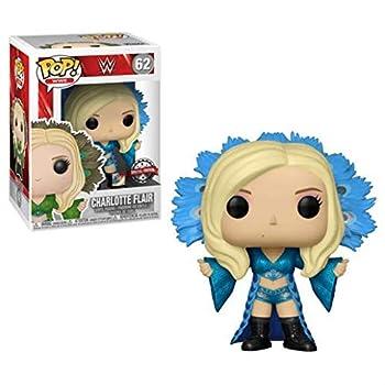 Funko POP! Charlotte Flair Blue Robe Vinyl Figure Exclusive
