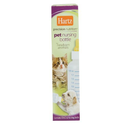Hartz Precision Nutrition Pet Nursing Bottle for Newborn Animals