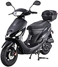 BRAND NEW Model ATM 50 Gas 49cc 50cc Street Legal Moped Scooter with Matching Trunk -Choose Your Color
