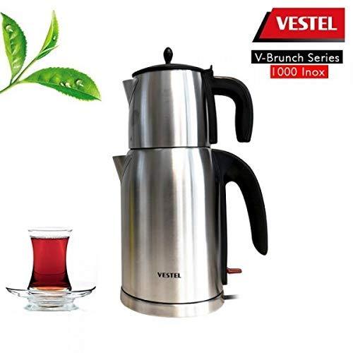 Vestel Teekocher Tee Maschine 20242148 Mit 2200W und 2,8L Kocher – Vestel Çay Makinesi - 2
