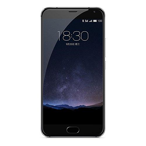 Meizu PRO5SB64GB Pro 5 14,5 cm (5,7 Zoll) Smartphone (Exynos 7420 Octa-Core Prozessor) Silber/schwarz