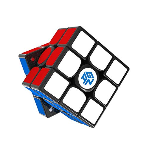 GAN 356 XS 3x3 Speed Cube, Gans 356XS 3by3 Speed Cube Magic Cube, Gan356 XS Magnetic Cube with GMS V2 System for Kids Adults Challenge(Sticker)