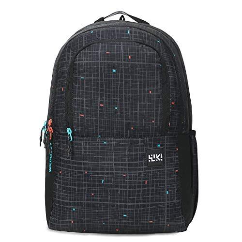 Wildcraft 31 Ltrs 5 inch Backpack (11952-Black_Black)