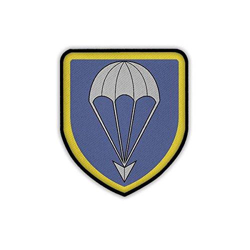 Copytec Patch/Aufnäher - LLBrig 27 Logo Abzeichen Wappen Luftlandebrigade Fallschirmjäger Luftlande Brigarde Bundeswehr Lippstadt Uniform #19006