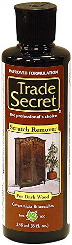 Scratch Remover for Dark Wood Furniture and Floor Cover Nicks and Scratches, Camouflage Minor Defects (8oz / 236 Ml)