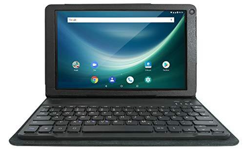 Odys NoteTab Pro 25,7 cm (10,1 Zoll), 1,3 Ghz QuadCore Prozessor, 16GB Flash Speicher, 2 GB RAM, Mali T720 MP2, Android 8.1) 4G LTE, GPS, DUAL SIM, Aluminium-Rückseite, Schwarz (Generalüberholt)