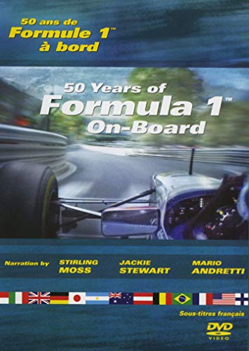 50 years of Formula 1 / 50 Ans De Formule 1 // On-Board / A Bord /Eng/Fre/ Narration By Stirling Moss / Jackie Stewart / Mario Andretti