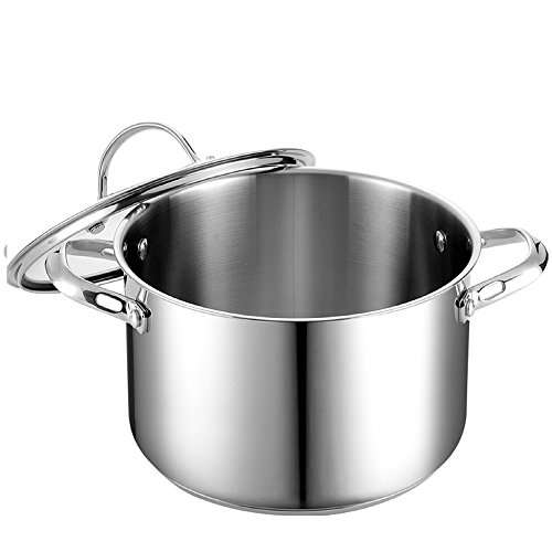 Cooks Standard 6-Quart Stainless Steel Stockpot with Lid Alabama