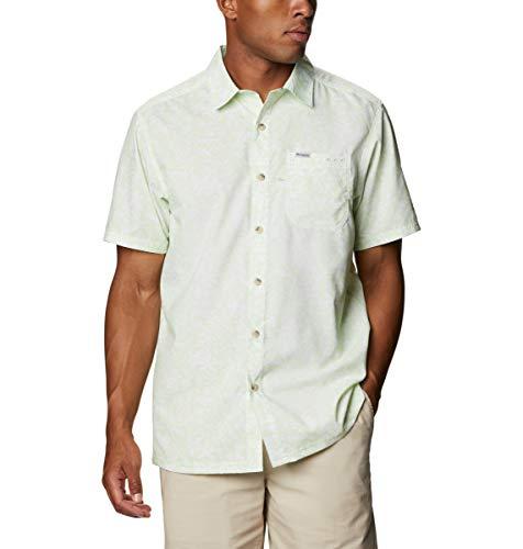 Columbia Super Slack Tide - Camisa de Campamento para Hombre, Talla Mediana