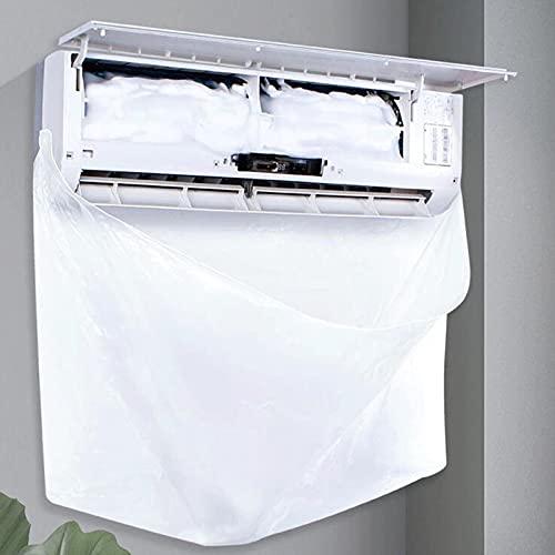 Sonoaud Cubiertas de aire acondicionado, a prueba de fugas, fundas de aire acondicionado, plegable, larga vida útil, compatible con dormitorio, 10 unidades