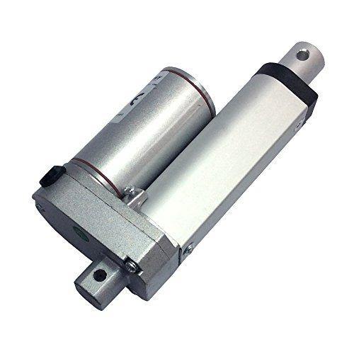 """BEMONOC 2"""" DC Elecric Mini Linear Actuator Stroke 50mm 2 Inch 24V Heavy Duty 60KG=600N Speed 16mm/s"""