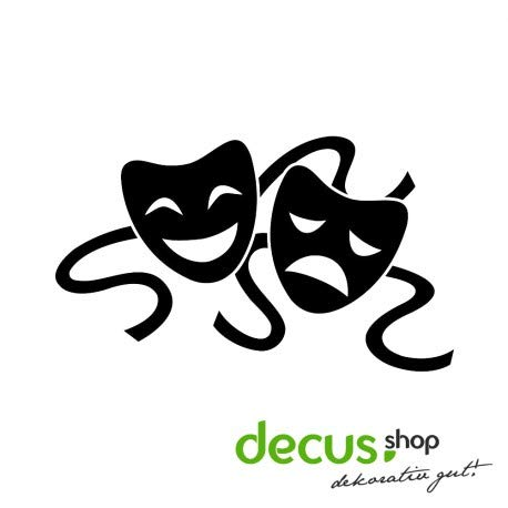 Decus Maskers Theater // sticker OEM JDM Style sticker