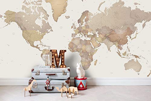 vinilo mapa mundi pared fabricante Jess Art Decoration