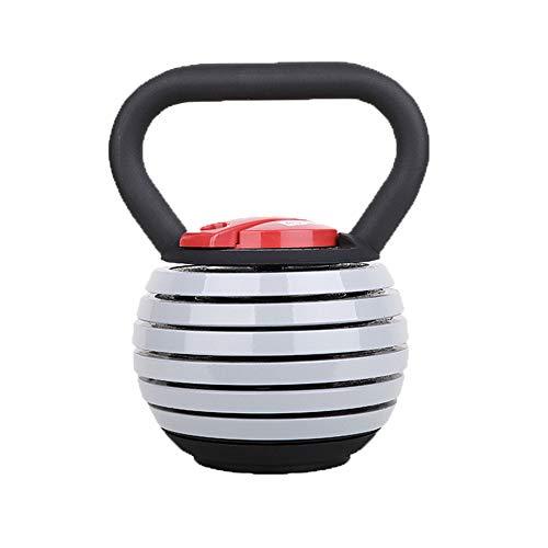 Verstellbare Kettlebells, gusseiserne Kettlebells, Fitnessgeräte, Haushaltskettlebells, abnehmbare Kettlebells, hohe Festigkeit, einfache Bedienung, einfache Bedienung (1 Packung)
