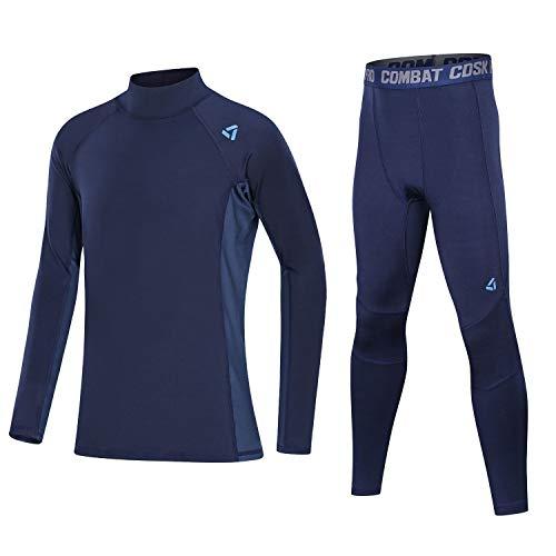 Echinodon - Fußball-Trainingsanzüge für Mädchen in Blau, Größe 134 (Etikett 26)