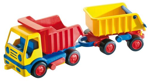 Wader Basics Dump Truck With Trailer