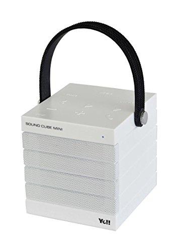 Silva Schneider P-BT 030 Bluetooth Lautsprecher Speaker Cube Mini Weiß