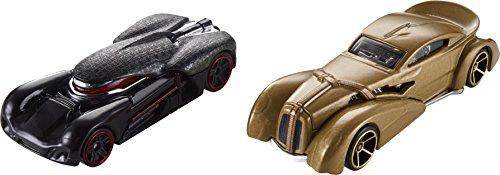 Star Wars Kylo REN und Snoke Charaterfahrzeuge aus Last Jedi - Hot Wheels Fahrzeug im Maßstab 1 : 64