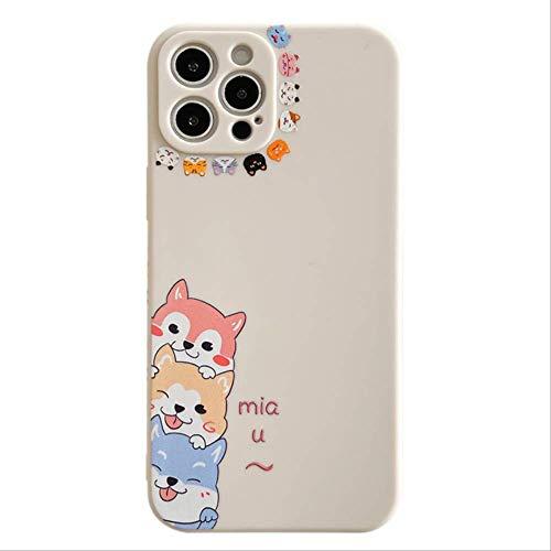 Funda para iPhone 11 Pro Max 12 Mini Pro 7 8 Plus X XR XS SE 2020 mate suave silicona TPU cubierta trasera para iPhone 11 1