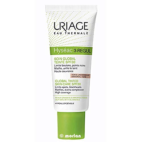 Uriage Filtro Solar Uriage Hyseac 3-Regul Color Spf50 40 mililitros - 40 ml