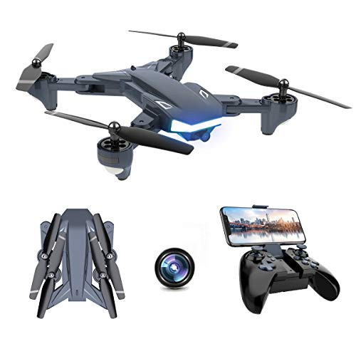 WiFi FPV Drone, Supkiir Foldable RC Quadcopter...