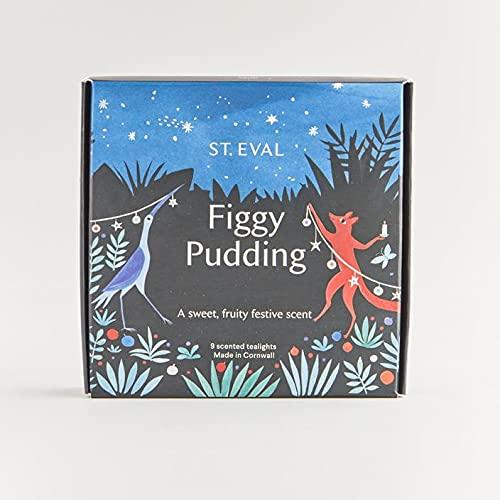 St Eval – Bougies Chauffe-Plat Parfum Pudding de Noël