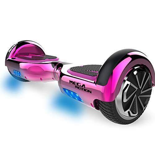 MARKBOARD Hoverboards Scooter autoequilibrado de 6.5'Hoverboard autoequilibrado de Dos Ruedas con Altavoz Bluetooth y Luces LED Scooter eléctrico para niños y Adultos, Regalo