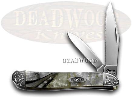 CASE XX Engraved Bolster Series Ivory Quartz Corelon Peanut Pocket Knives B00MS52OWC | Innovation