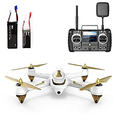 Hubsan H501SS X4 Brushless Drone GPS 1080P HD Camera With H906A Transmitter-White