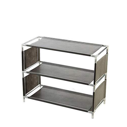 Zapatero de almacenamiento Caja de almacenamiento de zapatos multifuncional multifuncional Caja de almacenamiento de tela para el hogar Rack de almacenamiento Dormitorio Simple Estante de ahorro de es